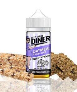 oatmeal-raisin-bar-late-night-diner-vaperzone