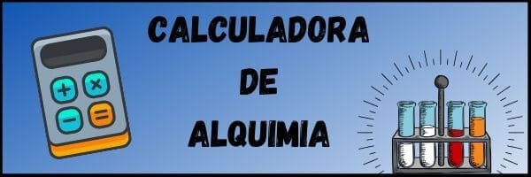 CALCULADORA DE ALQUIMIA