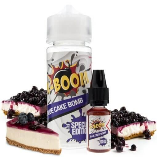 aroma k-boom blue cake