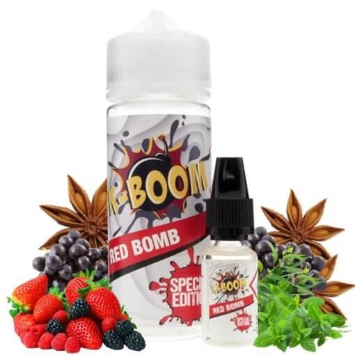 aroma k-boom red bomb 10ml