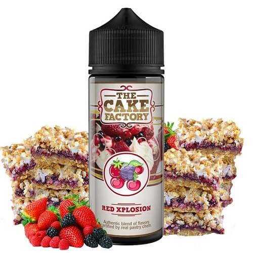 Red Xplosion The Cake Factory 100ml