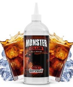 cola werewolf 450ml monster club